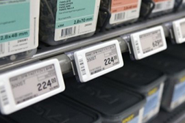Is Sertag  electronic shelf labels with NFC or not?