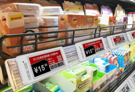 Low temperature resistant electronic price tag, special electronic shelf labels for supermarket refrigeration and freezing area