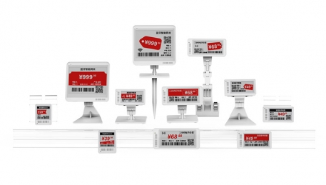 Save time, effort and money: electronic price tags electronic shelf labels