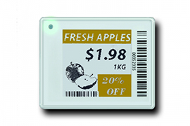 Can  Sertag  electronic shelf labels system support multiple SKU pricing on a single label