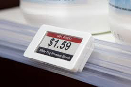 Do you have any color e-ink version warehousing electronic shelf labels  ? (ex. W/B/R etc.)