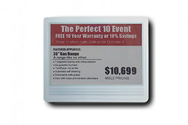 Is here Sertag electronic shelf labels demo kit that we can acquire?
