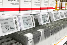 How can a customer manage inventory  Sertag electronic shelf labels  solution? can I have a step-by-step guide for this use case ?